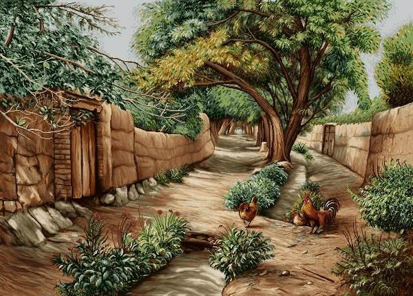 کوچه باصفا روستا