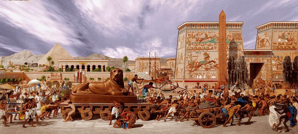 برده داری زمان فرعون