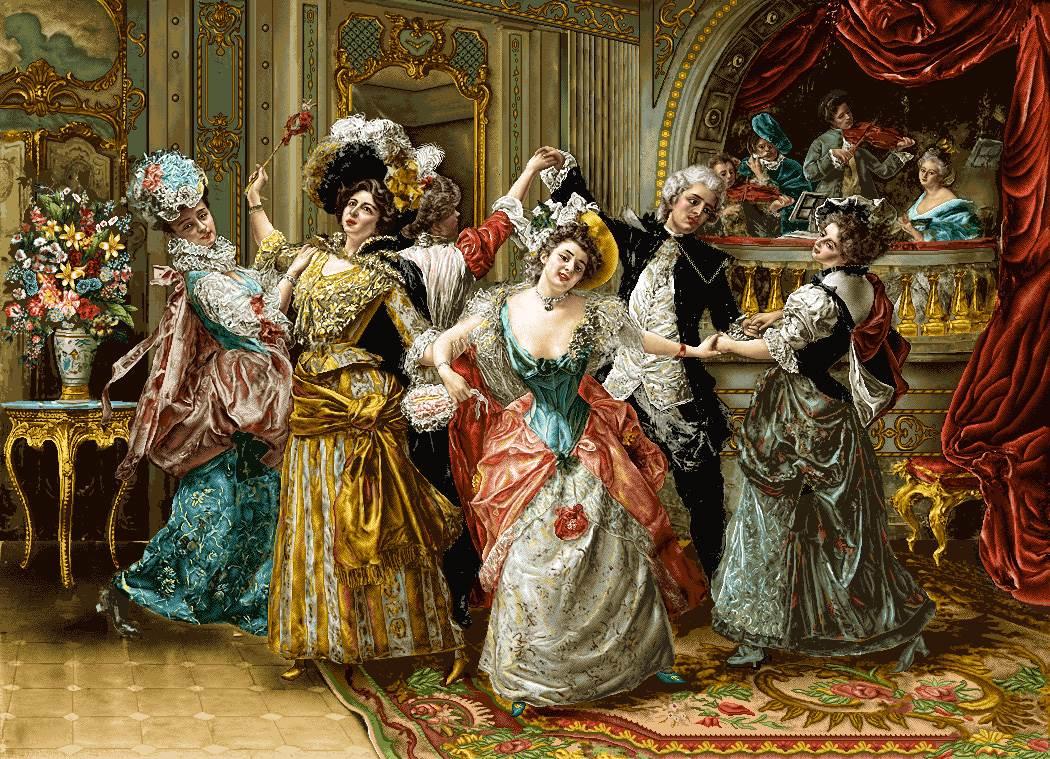 رقص در مهمانی اشرافی