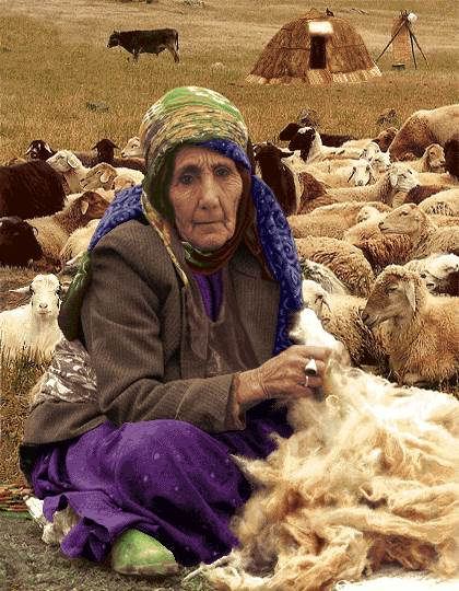 زن عشایر