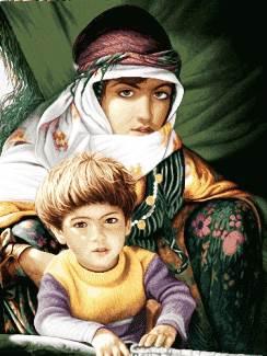 مادر و بچه عشایر