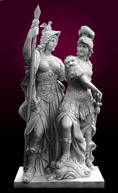 تندیس شوالیه های روم