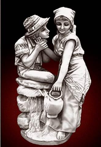 تندیس دختر و پسر