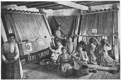 تاریخچه قالی بافی