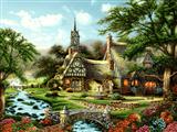 منظره خانه در طبیعت
