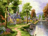 خانه کنار طبیعت و رودخانه