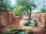کوچه باصفا روستایی