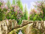 باغهای بهاری روستا