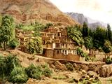 خانه های پله ای روستا