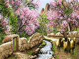 چوپان در کوچه بهاری