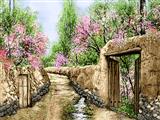 کوچه بهاری روستا