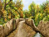 کوچه پاییزی روستا