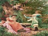 دختران و فرشته