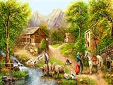 زندگی در طبیعت روستا