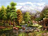 طبیعت ردوخانه و مردم روستا