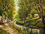 طبیعت روستای جنگلی
