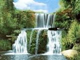 نقاشی آبشار زیبا