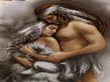 زن و مرد سرخپوست
