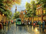 خیابان بارانی شهر