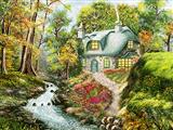 خانه در طبیعت جنگل