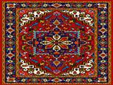 طرح پر نقش فرش