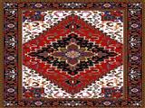 طرح گلیم و فرش ایرانی