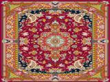 فرش طرح کاج ایرانی