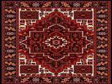 فرش زیبای تیره رنگ