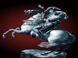 تندیس ناپلئون سوار اسب