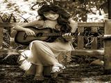 نوازنده گیتار دختر