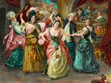 رقص مهمانی اشرافی