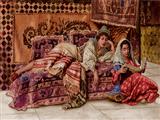 کتاب خوانی دو خواهر