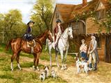 اسب سواری در روستا