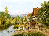 منظره روستایی