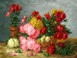 سبد گلهای پرپر