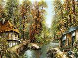 کلبه و رود و کوچه باغ