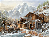 زمستان در روستا 2