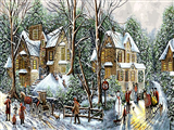 زمستان در روستا 3