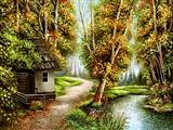 کلبه جنگلی