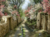کوچه باغ بهاری