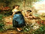 دختر باغبان و فرشته
