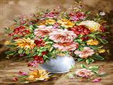 گلدان گلهای پرپر