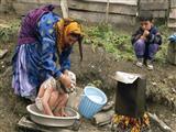 حمام کودک روستایی
