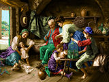 جمع خانوادگی روستایی