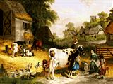 حیوانات اهلی روستا