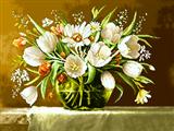 گلدان گل طاقچه