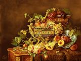 ظرف پر از میوه سلطنتی
