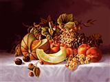 میز پر از میوه