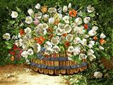 دسته گل در طبیعت
