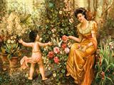 دختر باغبان و فرشته کوچولو